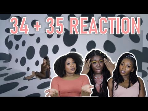 Ariana Grande - 34+35 (official video) LIVE RATE AND REACTION