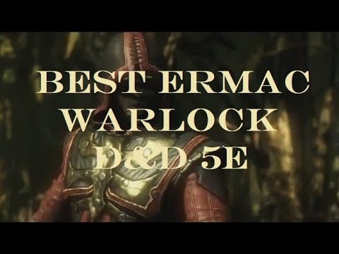 Best Ermac Warlock? D&D 5e Builds (The Build I want to play the most I  think)