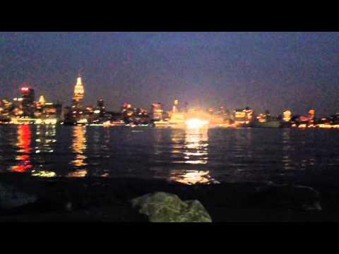 New York City from Hoboken, NJ at night