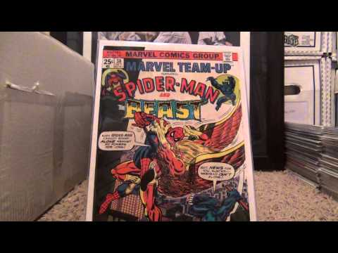 11/1/2013 My Complete Run of Marvel Team Up Comic Books Volume 1!