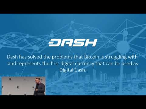 EURO FINANCE TECH V: Dash - Digital Cash (16-11-2017)
