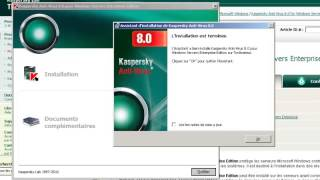 Kaspersky Anti-Virus 8.0 for Windows Servers Enterprise Edition