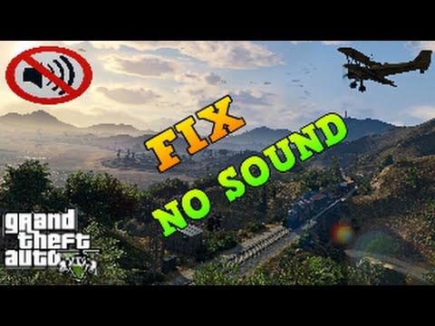 gta 5 steam no sound