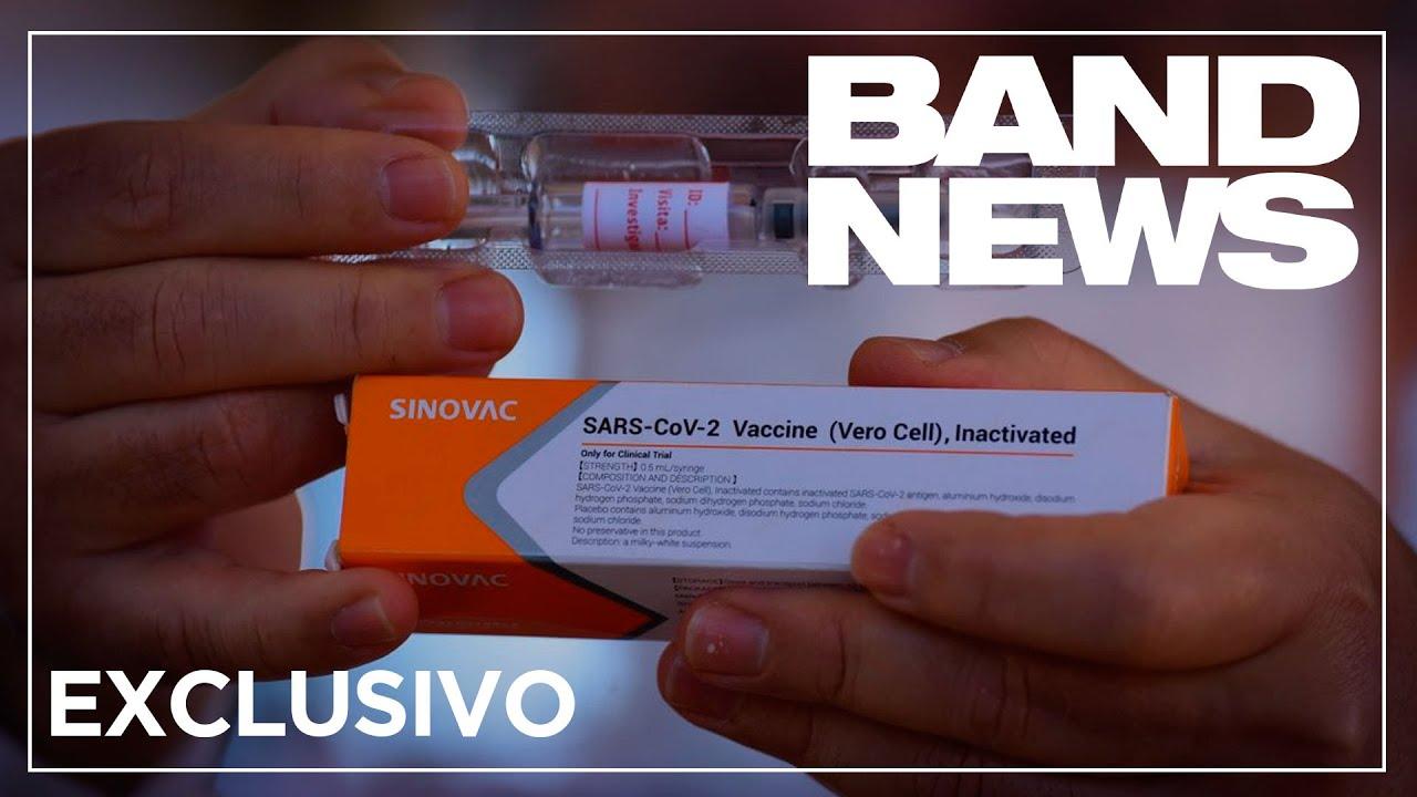 Exclusiva: Produção da vacina Coronavac no laboratório