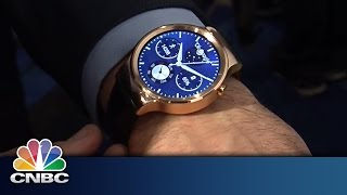 Huawei Surprise Smart Watch | Mobile World Congress 2015 | CNBC International