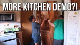 More Demolition & No Pantry? | Budget Mobile Home Remodel #4