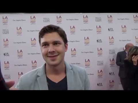 LAFF 2014: Red Carpet  with Justin Dobies for Dear White People