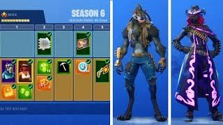 "SEASON 6 BATTLE PASS INTRODUCTION! -I bought all 100 tibatches! -""Fortnite Suomi"""