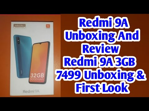 Redmi 9A Unboxing And Review || Redmi 9A 3GB 32GB 7499 Unboxing & First Look || Profit Ki Baat
