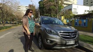 #ExperienciaAutoMujer: Prueba Changan CS35 Elite AT