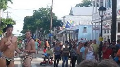 Key West Fantasy Fest fun on the Street