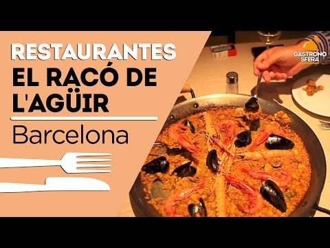 El Racó de l'Agüir - Especialistas en arroces (Barcelona)