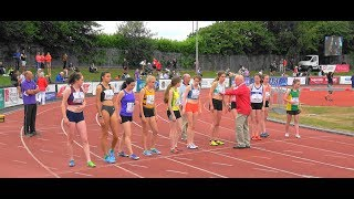 Junior Women's 1500m At The 2018 Cork City Sports ...Video By Jerry Walsh