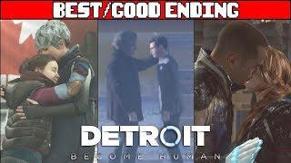 DETROIT BECOME HUMAN Best Ending + Secret Ending