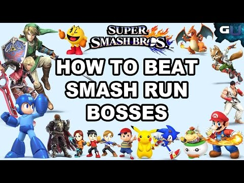 Super Smash Bros - How to Beat Smash Run Bosses