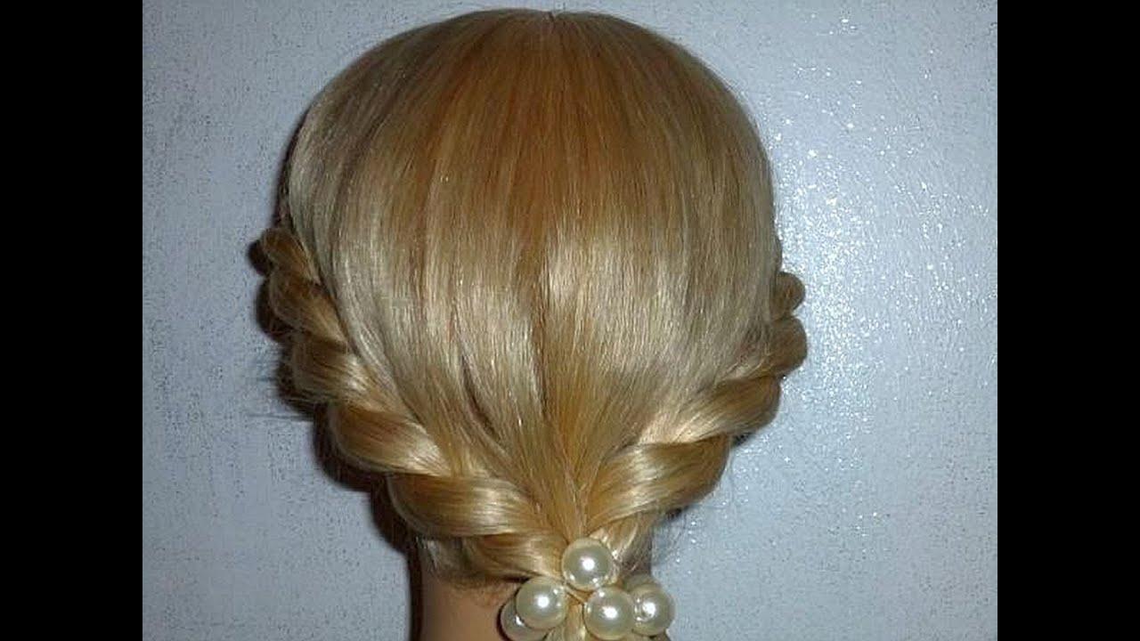 Причёски для начинающих на длинные волосы