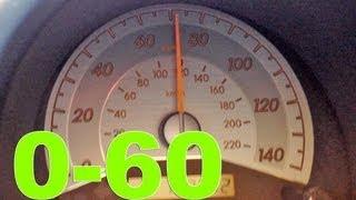 Сціон ТЗ 0-60, 0-90 км / год прискорення 5-ступінчаста механічна