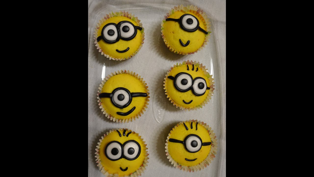 Minion Cupcake Despicable Me Cattivissimo Me Youtube
