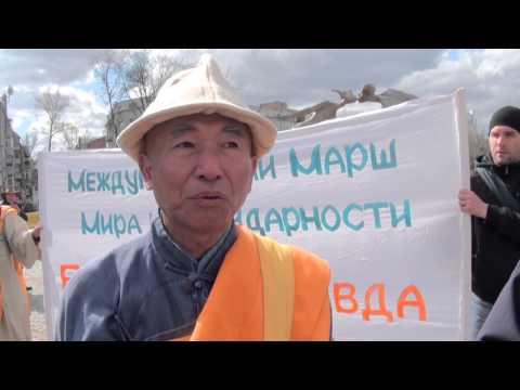 Марш мира. Харьков. Robinzon.TV