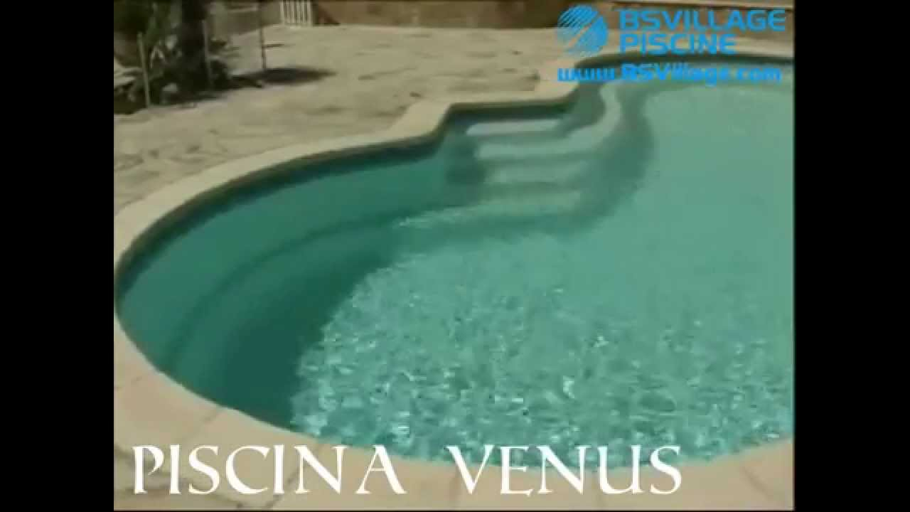 Piscina interrata in vetroresina a fagiolo venus youtube - Piscina interrata in vetroresina ...