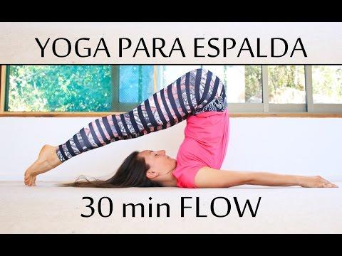 Yoga para aliviar dolores de espalda y ciática | 30 min con Elena Malova