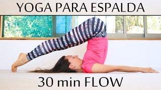 yoga para aliviar dolores de espalda y citica   30 min con elena malova