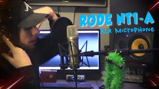 Rode NT1-A Condenser Microphone Review/Test (MADE A SONG)