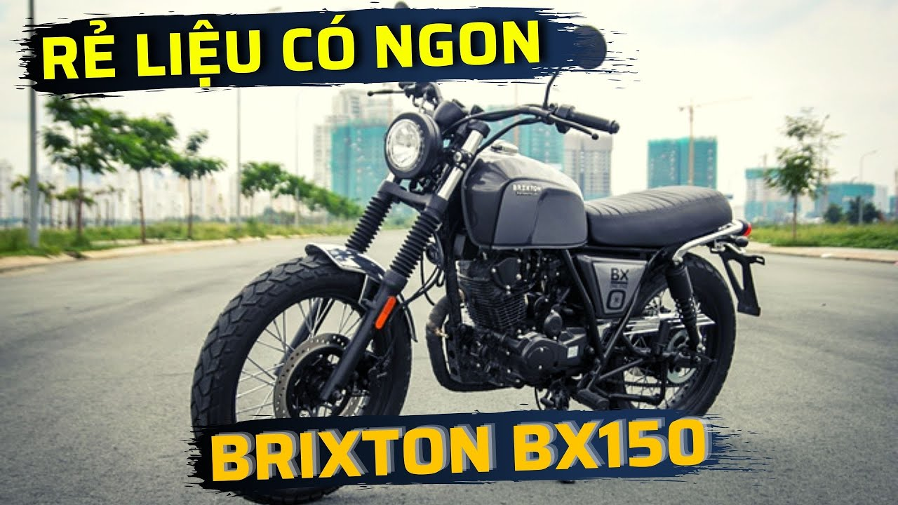 Giá xe Brixton BX 150   Xe máy BX 150 hãng Brixton mới nhất
