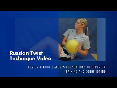 Russian Twist - Exercise Technique