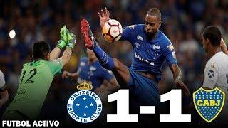Resumen Boca 1-1 Cruzeiro - Copa Libertadores + Polémicas