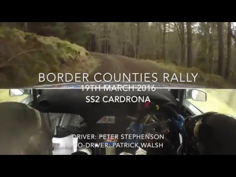 Border Counties Rally 2016 SS2 ABLE UK