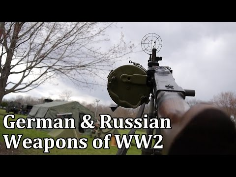 German & Russian Weapons Of World War 2