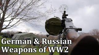 German & Russian Weapons of World War 2