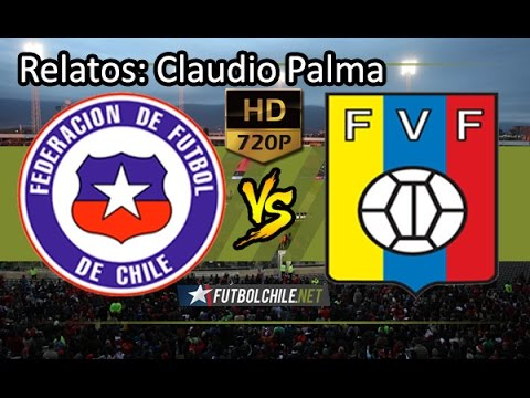 Chile (3) vs Venezuela (1) - HD - Clasificatorias Rusia 2018 - Partido Completo - 28/03/2017