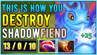 How to DESTROY Shadow Fiend with PUCK MID | Stream Highlight #9