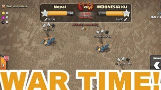 INDONESIANS UNDER ATTACK || CLASH OF CLANS ||
