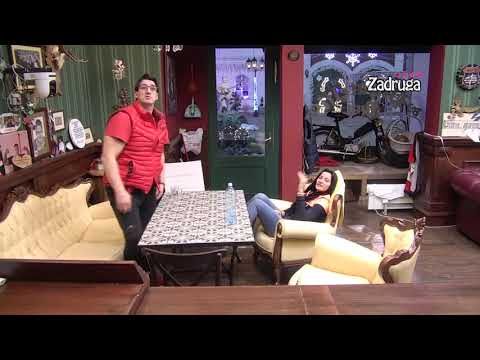 Zadruga 4 - Kristijan našao krevet za Kristinu, pa joj se hvalio urednošću paba - 28.03.2021. - Zadruga Official