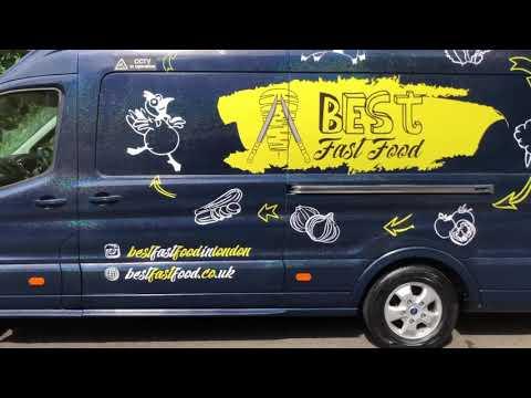 Food Van Presentation - Food Truck / Mobile Catering ( UK ) Burger / Hot Dogs Trailer - For Sale -