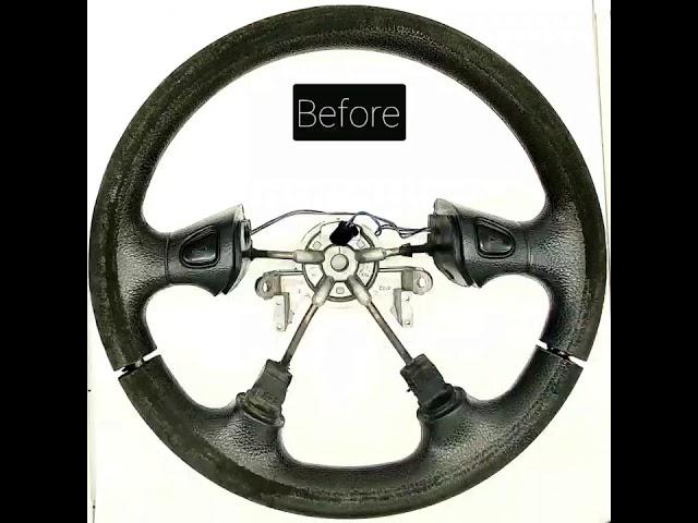 TAPIZAR VOLANTE ORTECON - Tapizado de volante de poliuretano plástico