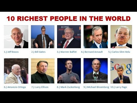 TOP 10 WORLD BILLIONAIRES 2019 (Richest People In The World)