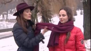 видео Как завязать шарф с капюшоном