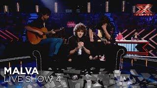 Malva trata de llegar a la final con 'Nostalgia soy', un tema original | Directos 4 | Factor X 2018