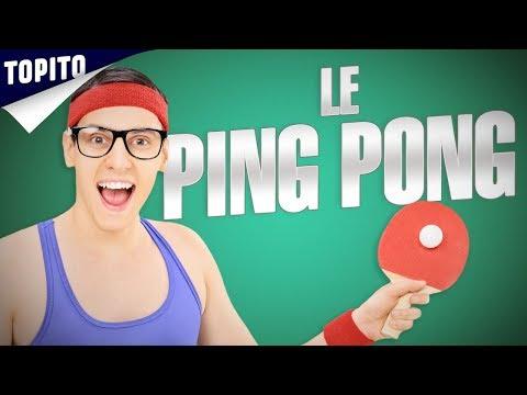 Top 8 des mecs chiants au ping pong