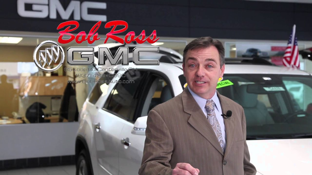 Bob Ross GMC Car Show Commercial - YouTube