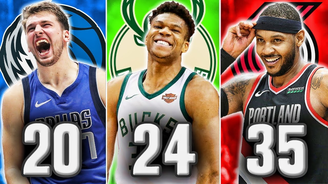 The Best Nba Player At Every Age In 2020 Youtube