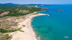 4K Arkutino Beach, Bulgaria /4K Плаж Аркутино България
