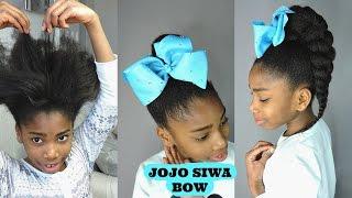 STYLING JOJO SIWA BOW || KIDS HAIRSTYLES