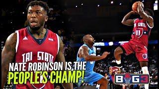 Nate Robinson GETS FANCY vs BIG BABY Davis!! Tri State vs Power BIG 3 Season 2!