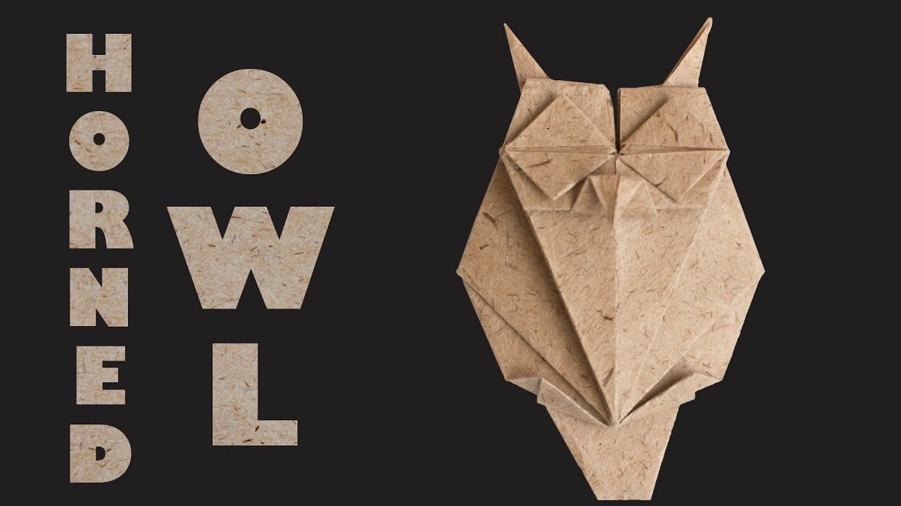 Paper Owl Tutorial DIY Easy Origami
