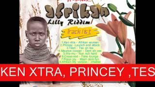 AFRIKAN LILLY RIDDIM  -FULL PROMO MIX - FAREAST EMPIRE AND HASH CASH KENYA